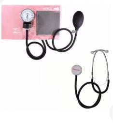 Título do anúncio: Kit estetoscópio e esfigmomanômetro premium