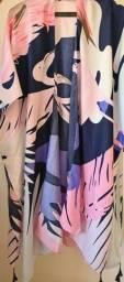 Título do anúncio: Linda blusa em estilo túnica G/GG
