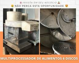Multi processador de alimentos 6 discos - MetVisa | Matheus