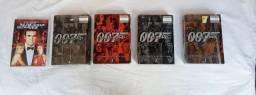 Coleção Dvds 007 James Bond contendo 25 filmes