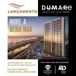 Dumare Jaguaribe - 3/4 com suítes 103m² - Vista Mar/ Nascente Total