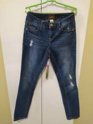 Calça jeans juvenil 15,00 reais