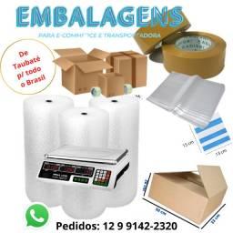 Caixa de Papelão, Envelope Inviolável, Fitas, Bolha, Transportadoras, Entregamos
