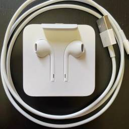 Fone de ouvido original Apple. Cabo original iphone.