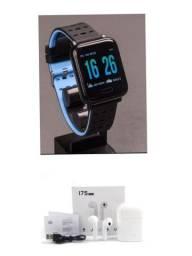 Super PROMOÇÃO Smartwatch A6 +Fone i7S