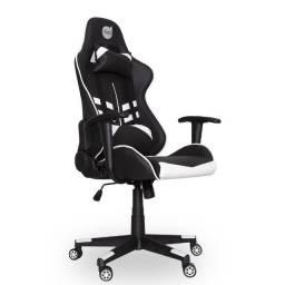 Cadeira Gamer Prime X - Dazz | Preto e Branco | Lacrada com garantia