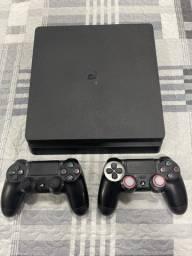 Título do anúncio: PS4 COMPLETO 1TB - 06 jogos