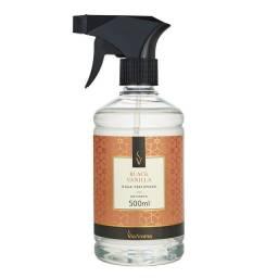 Agua perfumada para tecidos Black vanilla ant mof/bact Via Aroma 500ml
