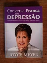 Livro Conversa Franca Sobre Depressão em bom estado