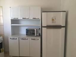 Apartamento mobiliado em Cuiabá, acomoda até 6 pessoas