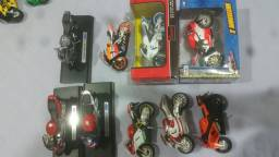 40 miniaturas motos 1.18