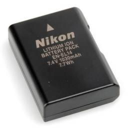 Bateria EN-EL14 Para as Câmeras Nikon D3100 à D3300 e D5100 à D5300