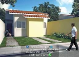 Casa na Planta Modelo Jasmim no Loteamento Bonsucesso 1