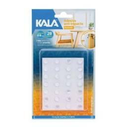Adesivo Anti-impacto Redondo 8mm Transparente Kala
