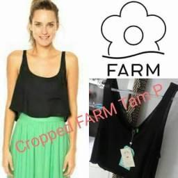 1 Crooped marca Farm tam P novo original