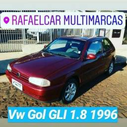 Vw - Volkswagen Gol GLI 1.8 - 1996