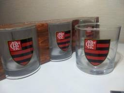 6e92c0df07 Kit 12 Copos De Whisky 300ml Oficial Flamengo Allmix