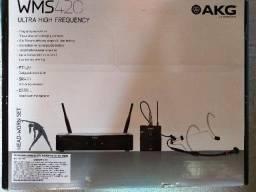 Microfone Auricular Akg WMS 420