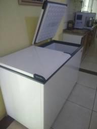 Freezer e Conservador Horizontal Esmaltec + Nota e Garantia