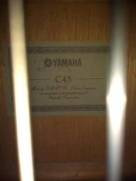 Violão Yamaha C45 Nylon - cordas D'addario ouro