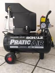 Compressor de Ar CSA 8,2/25 - 2,0 HP Schulz