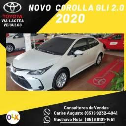 Toyota Corolla gli 2.0 - 177 CV Modelo 2020 - Flex - zero km / Concessionaria - 2019