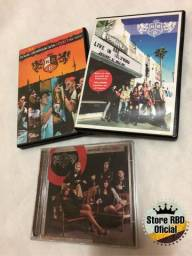 DVDs RBD Rebelde e CD comprar usado  Santa Luzia