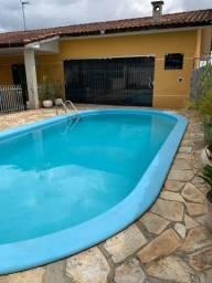 Permuta Casa em Colombo Com 4 quartos Suite e Hidro dupla,Piscina aquecida,terreno Grande