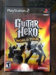 Jogo Guitar Hero World Tour PS2 original