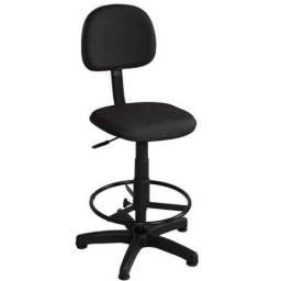 Título do anúncio: Cadeira escritório caixa alta secretaria garantia de 01 ano - braço opcional