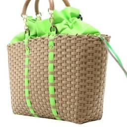 Bolsa Bag Shop Detalhes Neon Original Biro Expert Bolsas