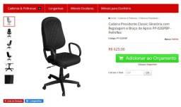 Cadeira executiva vandaflex