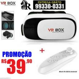 Óculos de realidade virtual 3d (entrega grátis)
