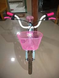 Bicicleta feminina infantil