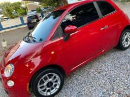Fiat 500 1.4 cult- vermelho