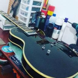 Luthier manutenção de instrumentos