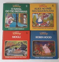 Coleção Livros infantis Classicos Disney, ed Nova Cultural. 1986. Usado