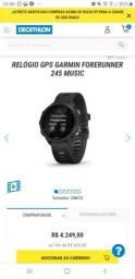 Relógio Gps Garmin Forerunner 245 Music