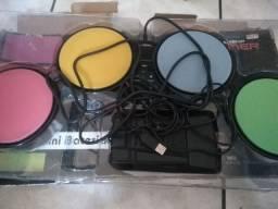 Mini Bateria Rock Band - PS2/ PS3/ Wii