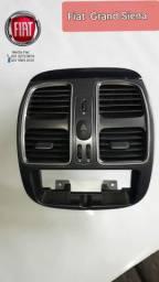 Kit difusor de ar com moldura do radio orginal do Grand Siena