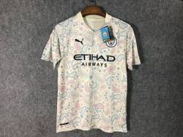 Camisa Manchester City 2020 Pronta Entrega