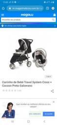 Carrinho e Bebê Conforto Galzerano