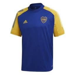 Camisa Boca Juniors Treino 20/21 Adidas Masculina - Azul (Original)