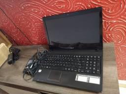 Notebook Acer Aspire Tela 15.6 W10 Bateria Nova com Garantia