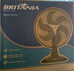 Ventilador Britânia ventus 40cm novo