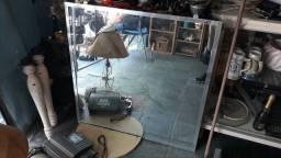 Espelho 100cm x 100cm salão loja barbearia