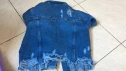 Jaqueta jeans curtinha !