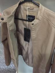 Jaqueta de couro sintético Tamanho P