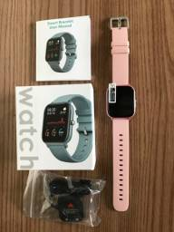 Relógio Smartwatch P8 + Película de Vidro