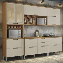 Cozinha dos Sonhos Nesher Duquesa MDF - Frete Imediato Grátis
